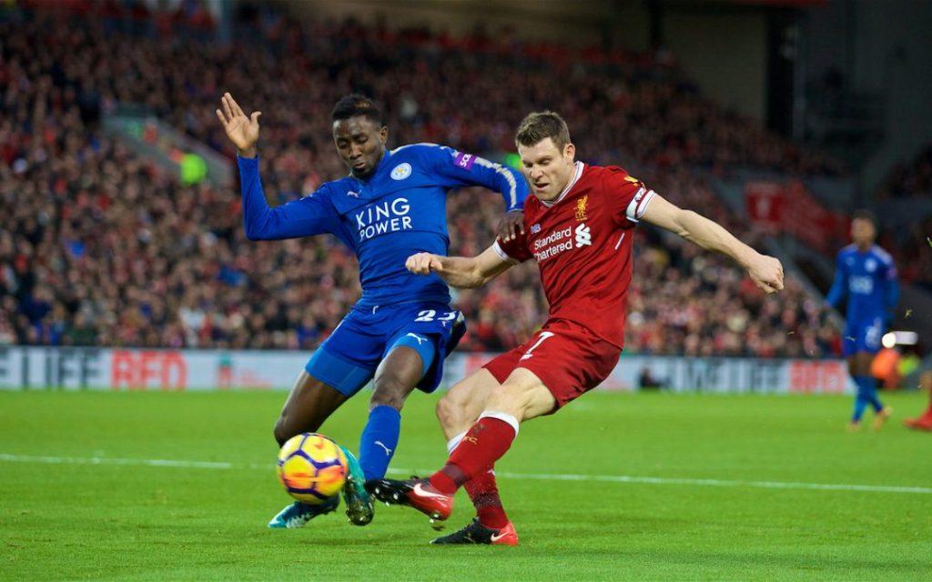 Liverpool busca la cima de la Premier ante el Leicester City