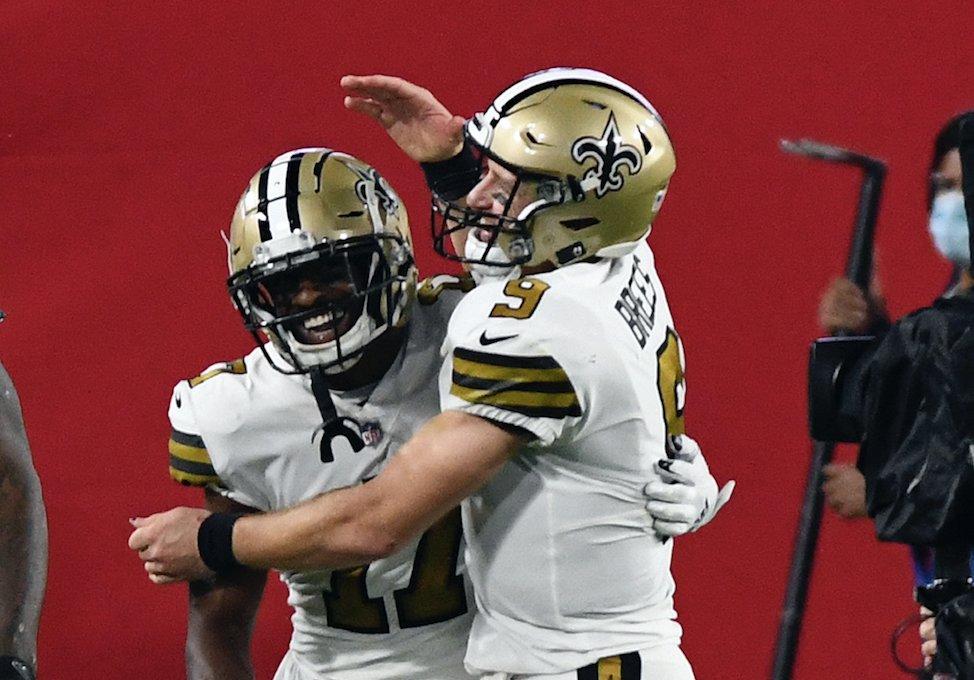 Saints aplasta a Tampa Bay en el duelo Brees vs Brady