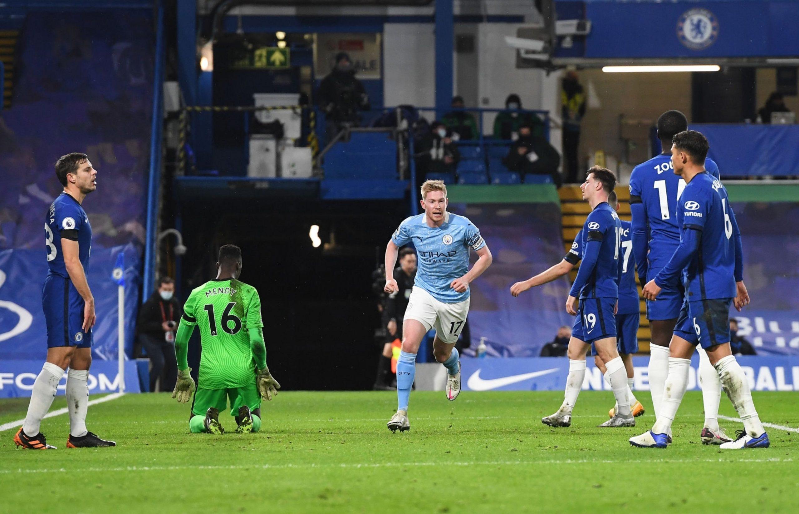 Manchester City despacha al Chelsea 45 minutos