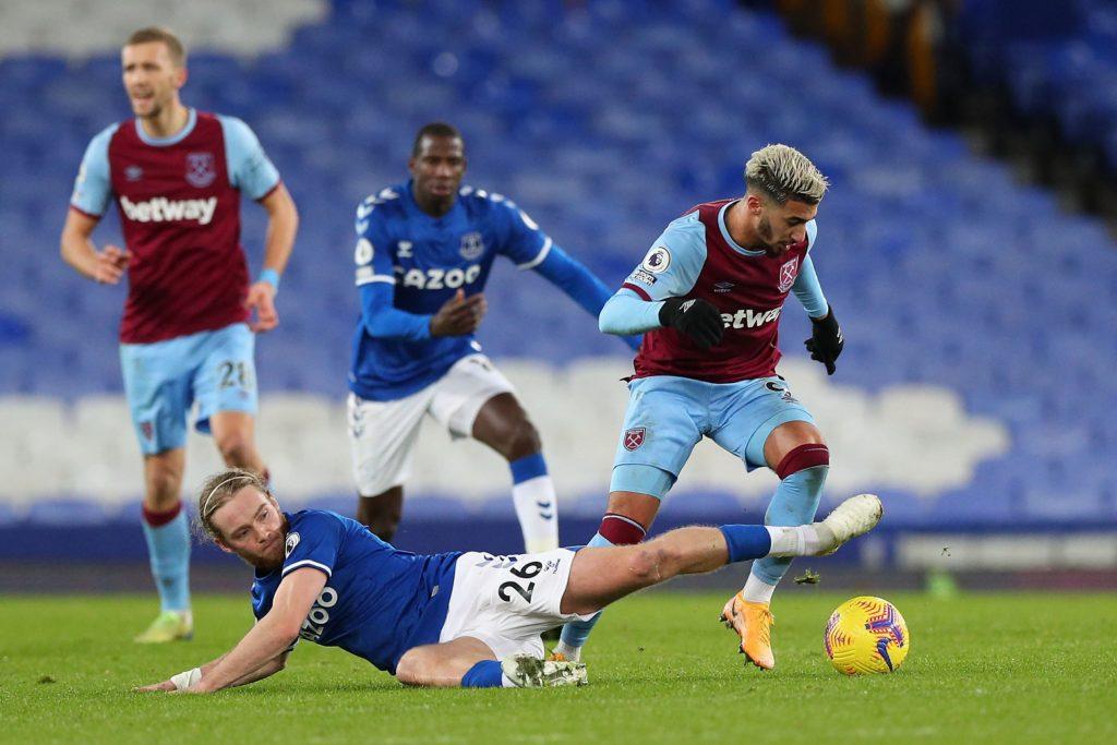 Everton pierde en casa con el West Ham