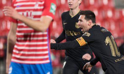 Gran versión de Messi en la goleada del Barcelona