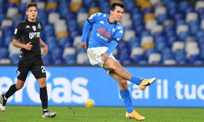 Gol de Chucky Lozano en la Copa de Italia