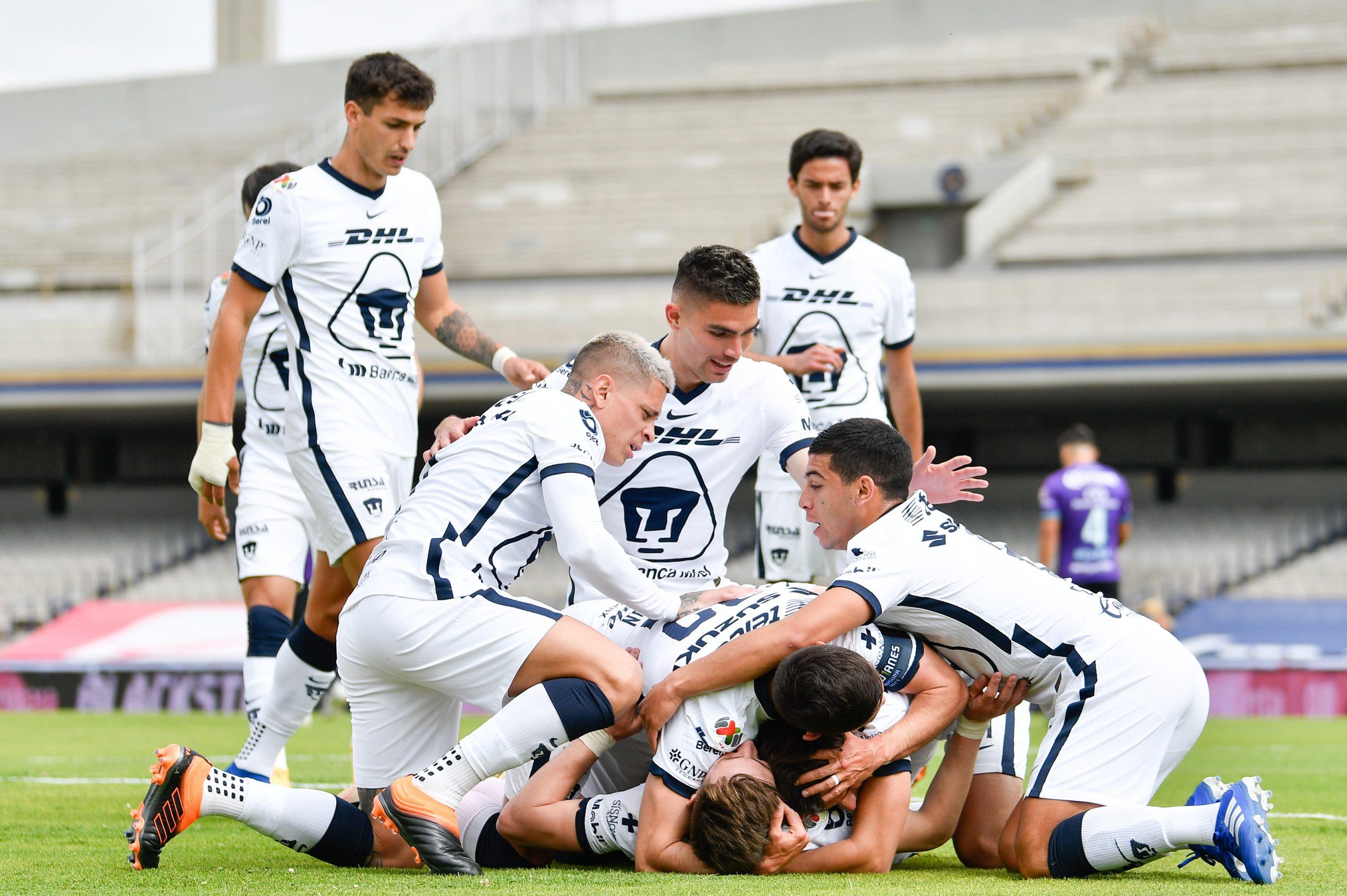 Pumas despacha a Mazatlán sin despeinarse