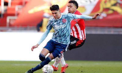 Edson Álvarez y Erick Gutiérrez empatan en el PSV-Ajax