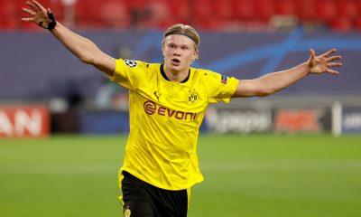 Doblete de Haaland y Borussia se acerca a cuartos