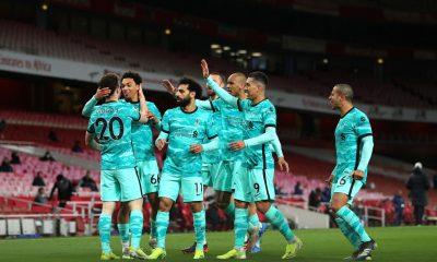 Liverpool vence al Arsenal y sueña con puestos de Champions