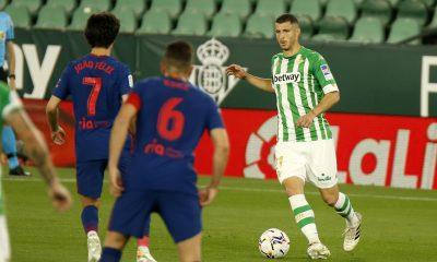 Betis y Diego Lainez empatan con el Atlético de Madrid
