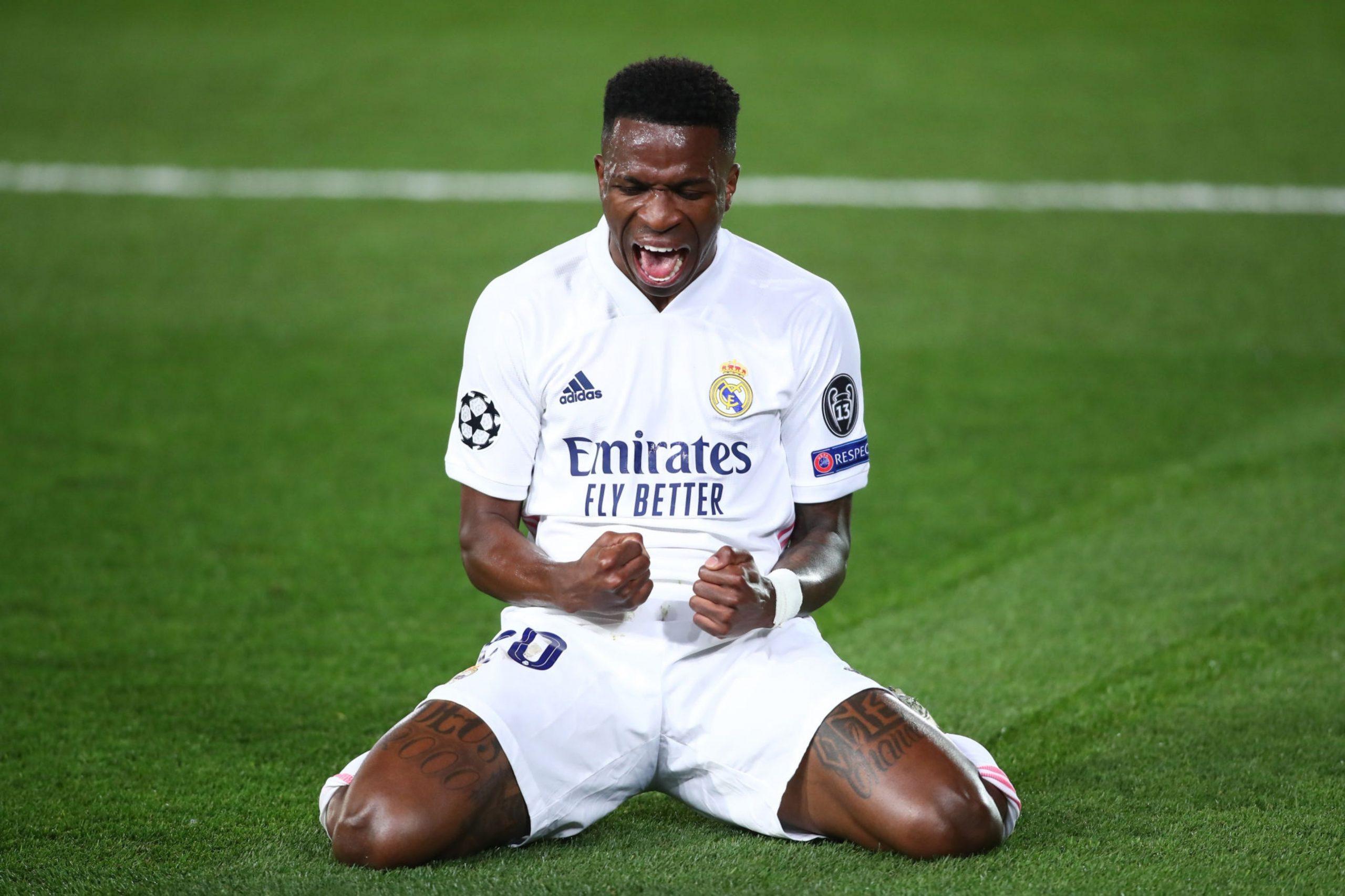 Real Madrid tiene al borde del nocaut al Liverpool
