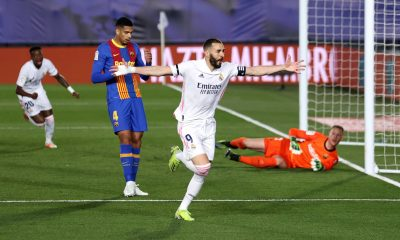 Dos contragolpes del Real Madrid liquidan al Barcelona