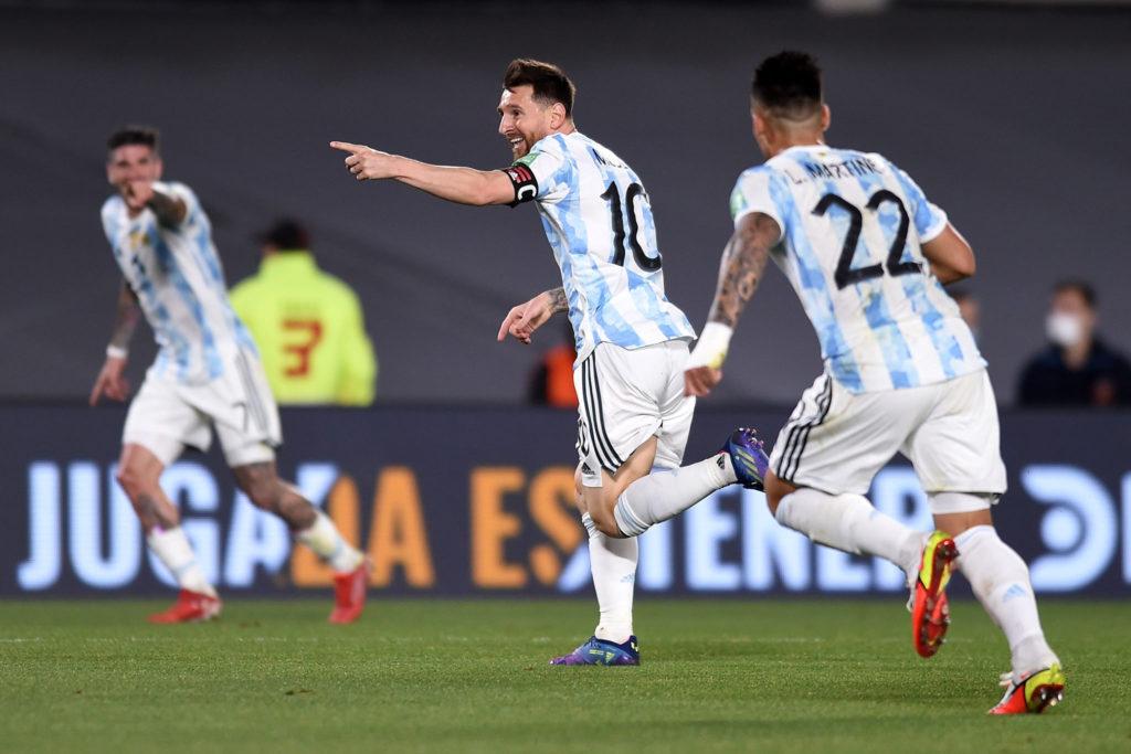 Messi llega a 80 goles con Argentina