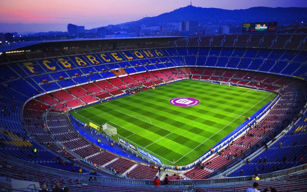 El Clásico Barcelona vs Real Madrid con estadio lleno